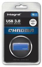 Pendrive blu Integral da 16 GB