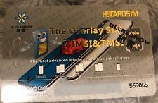 iPhone Unlock Card Heicard GPP for iPhone X 8 7 Plus Sim All Carriers Bundle 5X
