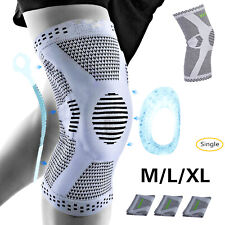 Elastic Knee Brace Support Sport Leg Compression Pain Relief Pad 3 Size US Stock