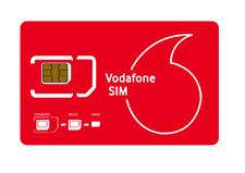 Vodafone Sim Card Portugal Active Free EU Roaming - pay as you go Style prepaid