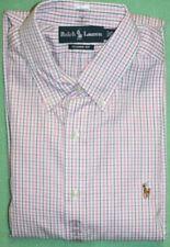 """NUOVO con confezione Marks /& Spencer Camicia 14.5 /"""" 37 MANICHE CORTE BLU STRISCE BIANCHE Business"""