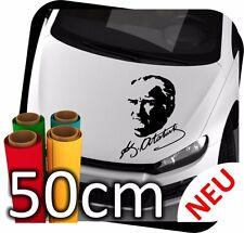 50cm Mustafa Kemal Atatürk Imza Imzasi Türkiye Auto Spiegel Sticker Aufkleber