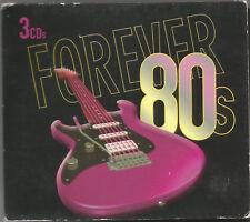 FOREVER 80s - 3 CDS (2007) THE COUNTDOWN SINGERS / 30 TRACKS: DIGIPAK