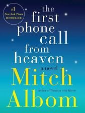 The First Phone Call from Heaven: A Novel by Mitch Albom (Hardcover)