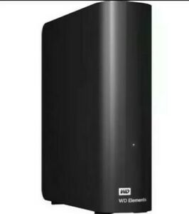 3TB WD Elements Desktop External Hard Drive -Works with Xbox one,PS4,Wii and PC.
