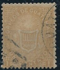 [384] Guatemala good old stamp very fine used