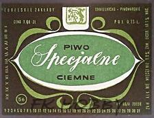 Poland Brewery Lublin Specjalne Beer Label Bieretikett Etiqueta Cerveza lu48.2