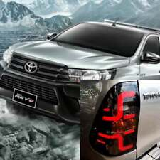 Toyota Hilux Revo Black Smoke Lens Led Tail Light Fits: 2015 2016 2017