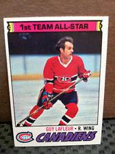 1977 Topps # 200 Guy LaFleur **** 2 CARD LOT .... CANADIENS ****RH-5240