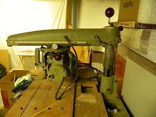 Classic DeWalt Power Shop Radial Arm Saw with Stand 112VAC US