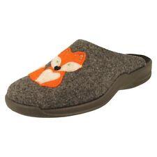 Pantofole da donna grigia Rohde