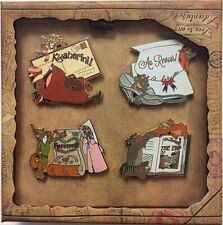 Disney WDW Love is an Adventure Goodbye Farewell Gift 4-Pin LE Boxed Set! 123719