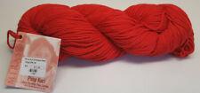Hand Dyed Mirasol Yarn Pima Kuri by the Skein 08 Blazing Orange