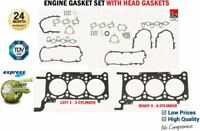 ENGINE GASKET SET WITH HEAD for AUDI A6 Allroad 2.7 TDI quattro 2006-201