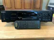 Sony Mini disc Player/Recorder, 2 Portables and Disks
