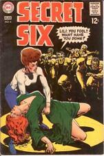 SECRET SIX 6 F+   March 1969 COMICS BOOK