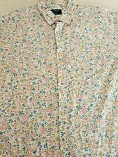 SIZE  XL ~MENS SHORT SLEEVE CASUAL PAISLEY PARTY SHIRT ~~ LOWES ~DIFFERENT