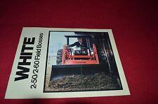 White 2-50 2-60 Tractor Dealer's Brochure GDSD4
