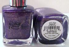 Bari Pure Ice Nail Polish Nail Enamel # 842Cp Temptress Purple Gold Shimmer Vhtf