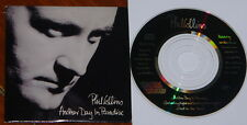 PHIL COLLINS ~ ANOTHER DAY PARADISE LTD EDITION UK 3-TRACK 3-INCH CD SINGLE 1989