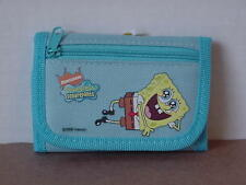 SPONGEBOB SQUAREPANTS MINI TRI FOLD WALLET BLUE #35