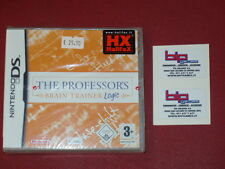 THE PROFESSOR'S BRAIN TRAINER LOGIC NINTENDO DS  PAL NUOVO SIGILLATO
