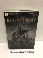 METAL GEAR SOLID 2 SONS OF LIBERTY (GUIDA STRATEGICA) JAP VERSION GUIDE