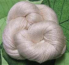 Yasik 214 Tibetan Yak Down Silk Natural Cream Yarn 100 gram Skein VERY SOFT
