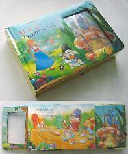 Lewis Carroll - ALICE IN WONDERLAND book & puzzle, Estonia 2005