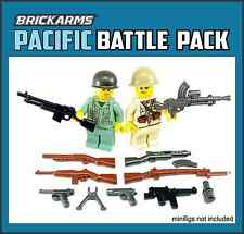 BRICKARMS WWII PACIFIC Weapon Pack 2016 for Lego Minifigures Limited Edition NEW
