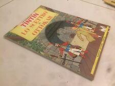 N° 4 TINTIN GANDUS 1° EDIZIONE LIBRERIA 1967/68 LIRE 500 LO SCETTRO DI OTTOKAR