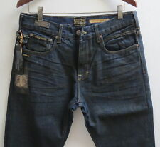 Third & Army Men Jeans 33 W x 32 Tapered Ranch Hand Aged Made in LA New w/ Tags