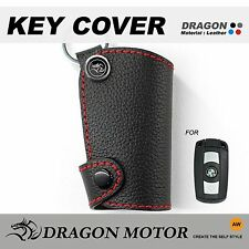 Leather Key fob Holder Case Chain Cover FIT For BMW E81 E82 E87 E90 E91 E92 033A