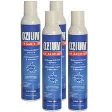4 CANS!  Ozium Air Freshener Eliminates Smoke Odors 8 oz Spray (4-Pack)