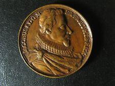 King James I Jean Dassier medal 1730s 37.7mm 20.50g England