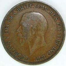 1936 HALF PENNY OF GEORGE V.     #WT15475