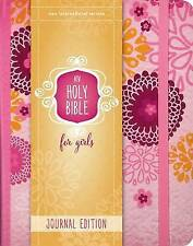 NIV Holy Bible For Girls, Journal Edition, Elastic Closure [Pink] by Zondervan (Hardback, 2016)