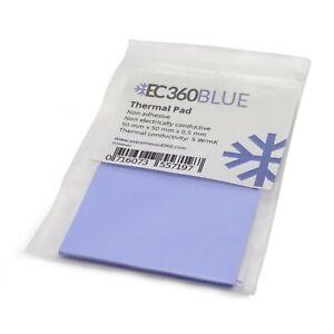 EC360® BLUE 5W/mK Wärmeleitpad (50 x 50 x 0,5 mm) I GPU RAM ThermalPad