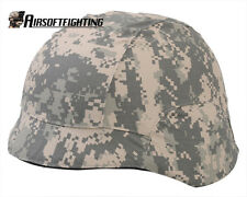Paintball Tactical Digital ACU Camo M88 PASGT Kelver Helmet Cover for M88 Helmet