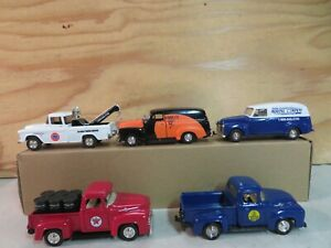 SET OF 5 (1:43 / O SCALE) AUTOS TRUCKS FOR YOUR K-LINE LIONEL MTH LAYOUT LOT C