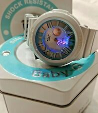 CASIO BGA 161-2B BABY-G Model 5288 3D Metallic Dial Neon Illuminator Watch
