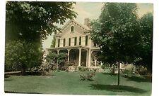Bernardsville NJ-EARLY COLONIAL HOUSE FOR SALE-RPPC Postcard