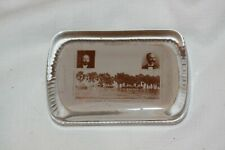 Antique 1908 United Presbyterian Jubilee Glass Advertising Paperweight Lot 4641