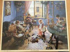 # Adventskalender # Kinderstube, Fritz von Uhde Kunstverlag Brück & Sohn AK 2241