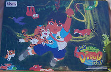 Diego Jungle Jigsaw Puzzle Dora Explorer Friend Easy 48 Pieces Board Mounted