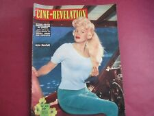 CINE REVELATION 221 JAYNE MANSFIELD SOPHIA LOREN TBE