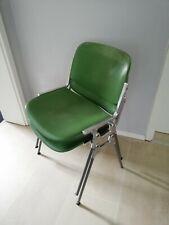2er Set VINTAGE 60er Castelli Chair Alu Stuhl  Industriedesign Modell: 119/83