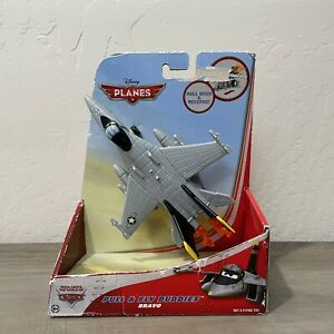 Disney Planes Pull & Fly Buddies Bravo Pullback Friction Jet Airplane Toy 2013