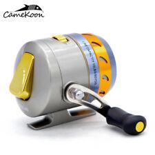 CAMEKOON FBL40 Spincast Reel Pre-Spooled 10LB Line 4.3:1 Gear Ratio 3+1 Bearings