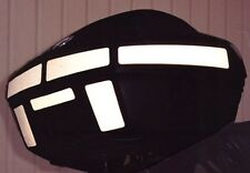 BMW R1100RT R1150RT Top Case Reflective Black Tape Kit  R1100RS R1150RS